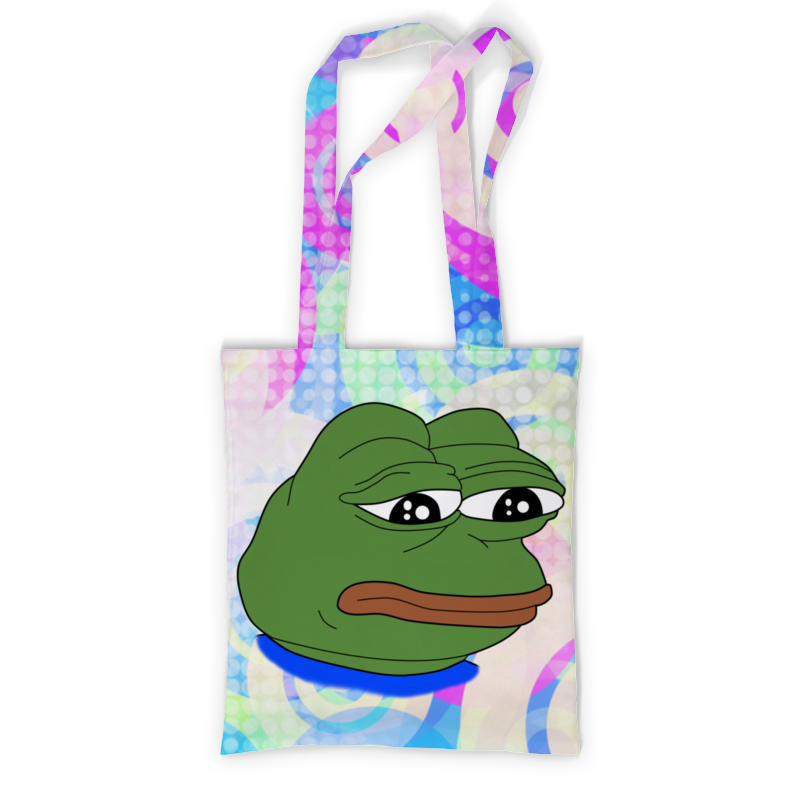 Фото - Printio Сумка с полной запечаткой Pepe frog printio сумка pepe the frog whant some love