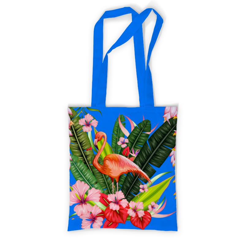 printio сумка с полной запечаткой влюбленные фламинго Printio Сумка с полной запечаткой Фламинго