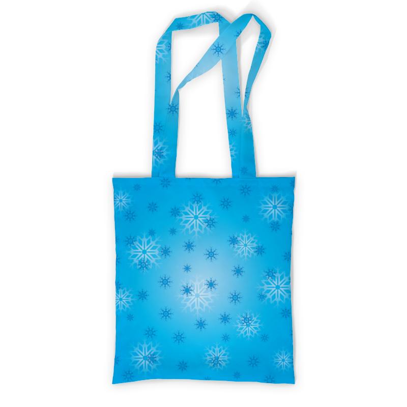 Printio Сумка с полной запечаткой Снежинка printio сумка с абстрактным рисунком