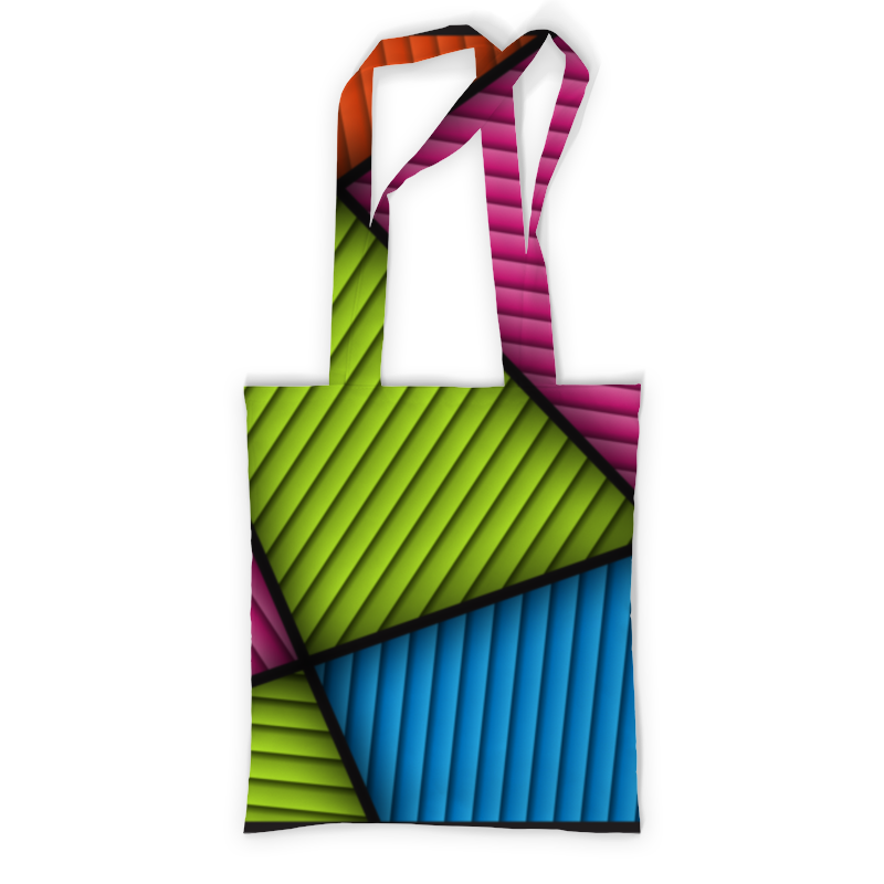 Printio Сумка с полной запечаткой Цветная абстракция printio сумка с абстрактным рисунком