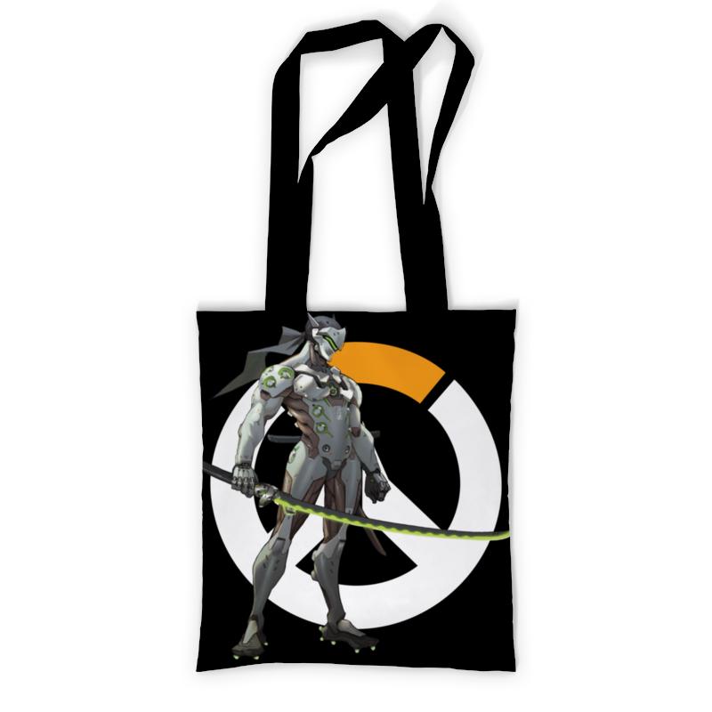 Printio Сумка с полной запечаткой Overwatch genji / овервотч гендзи printio сумка с абстрактным рисунком