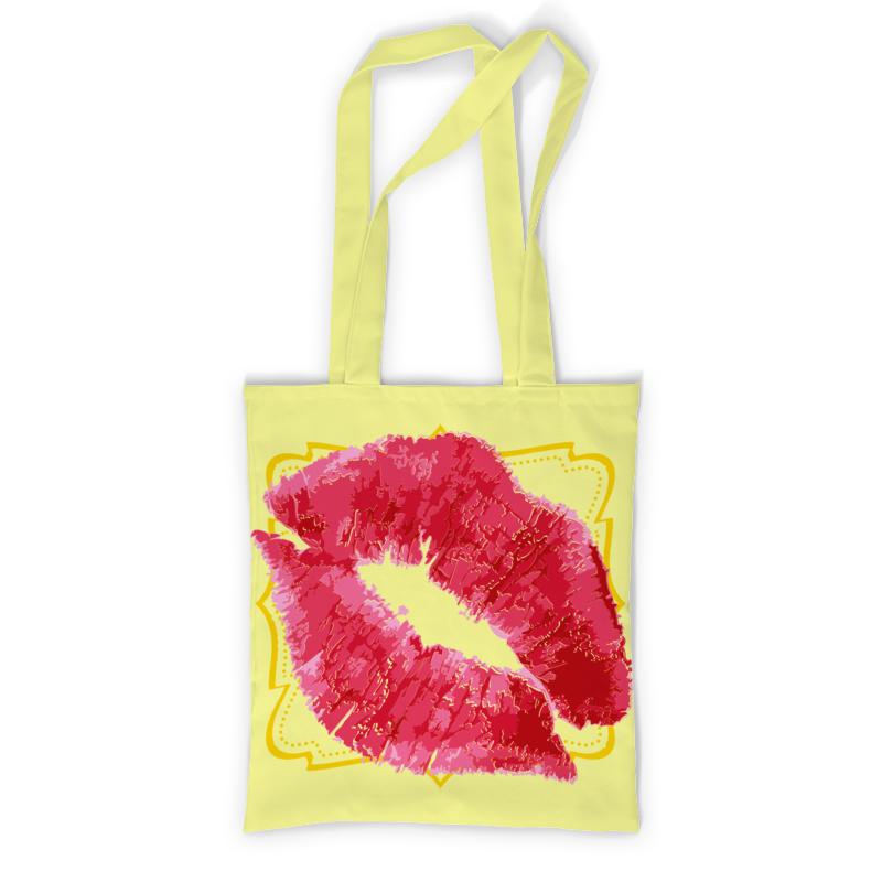 Фото - Printio Сумка с полной запечаткой Поцелуй. printio сумка с полной запечаткой кружево