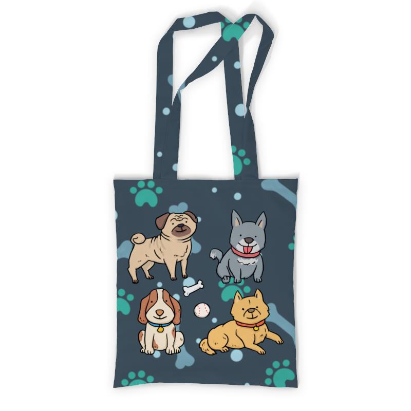 Printio Сумка с полной запечаткой Собаки printio сумка с абстрактным рисунком