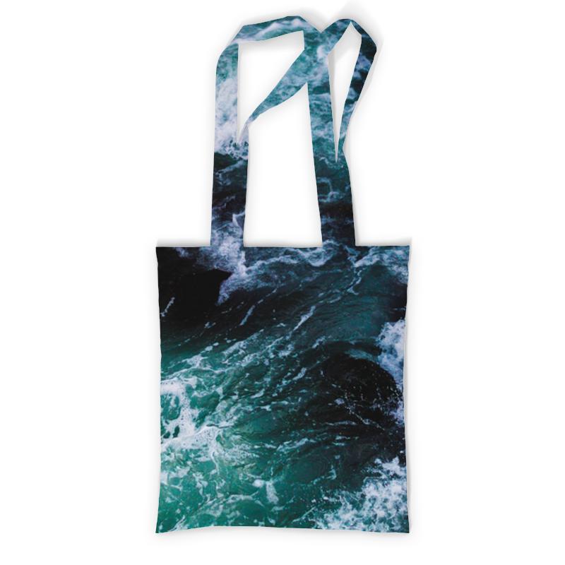 Printio Сумка с полной запечаткой Бескрайнее море printio сумка с абстрактным рисунком