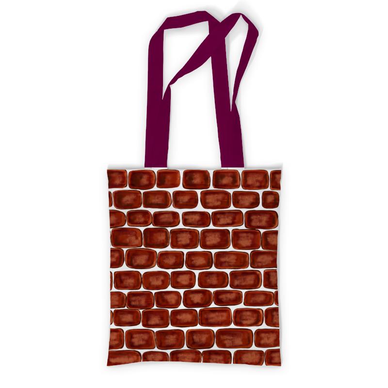 Printio Сумка с полной запечаткой Кирпичи printio сумка с абстрактным рисунком