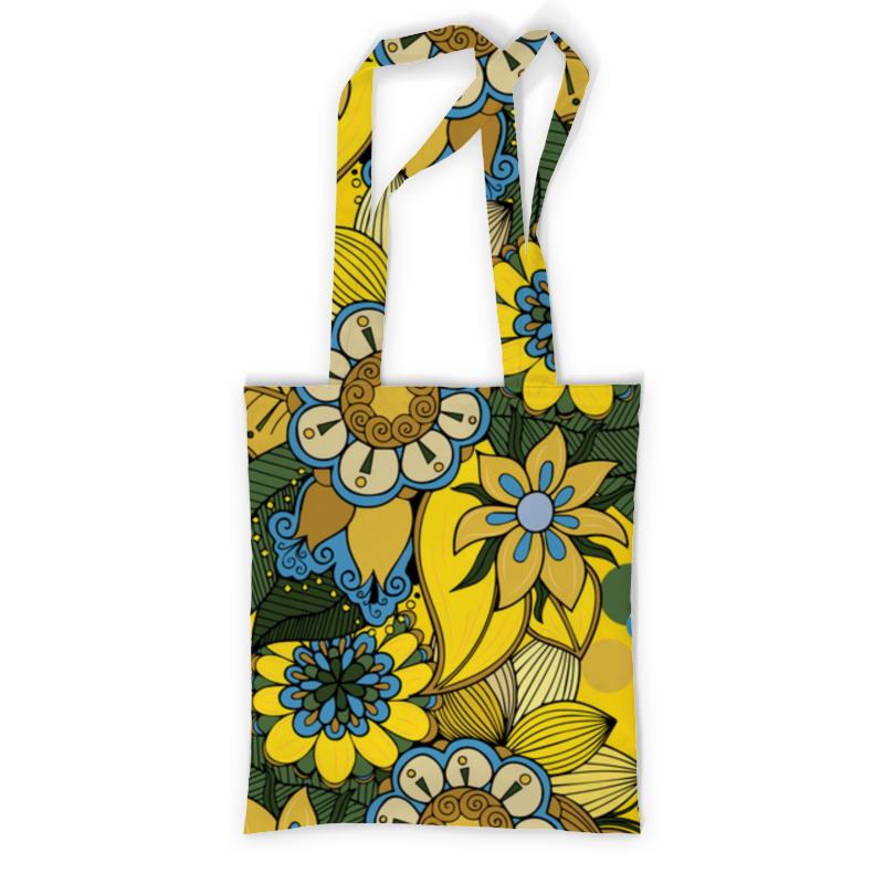 Printio Сумка с полной запечаткой Цветы printio сумка с абстрактным рисунком