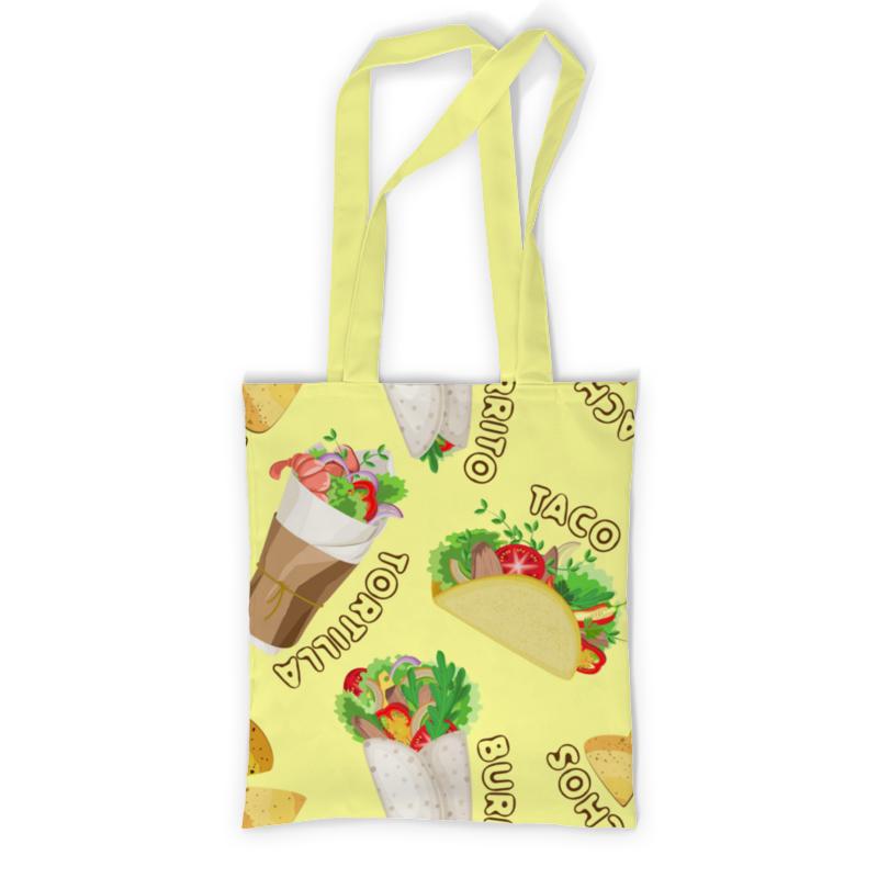 Printio Сумка с полной запечаткой Мексиканская еда printio сумка с абстрактным рисунком