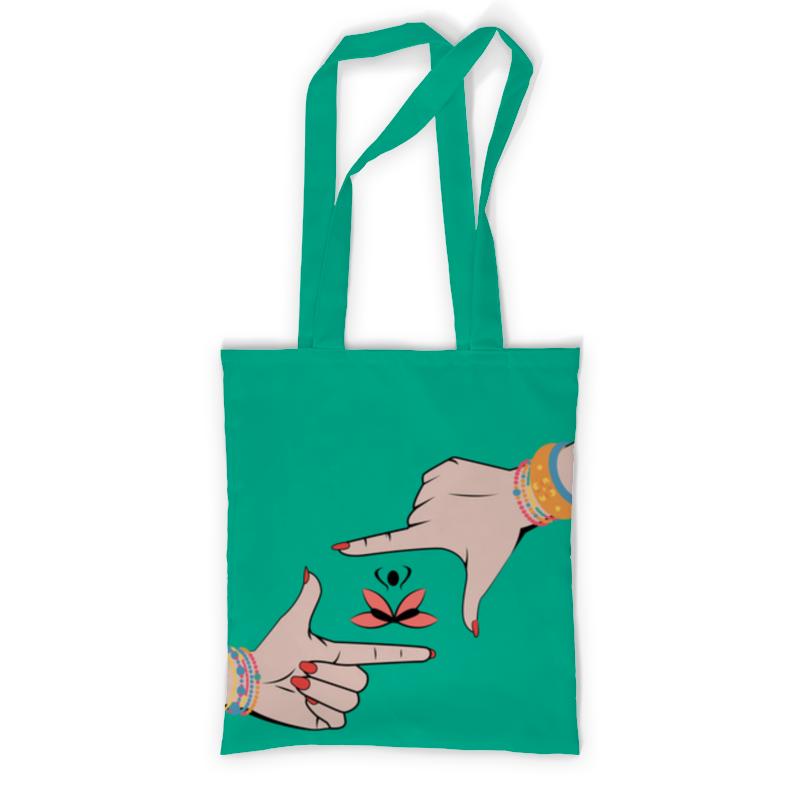 Printio Сумка с полной запечаткой Медитация printio сумка с абстрактным рисунком