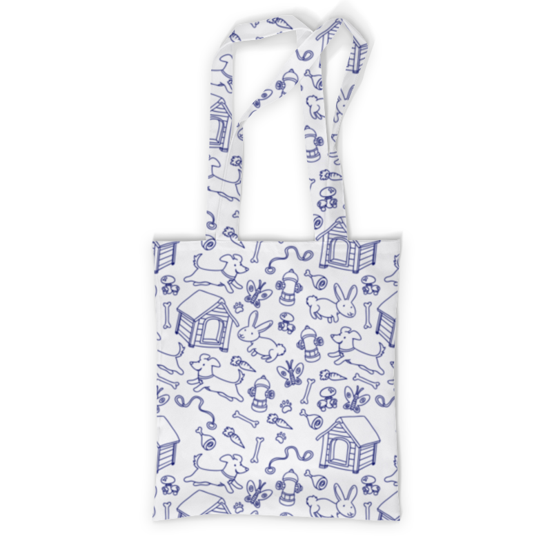 Printio Сумка с полной запечаткой Собаки и кролики printio сумка с абстрактным рисунком