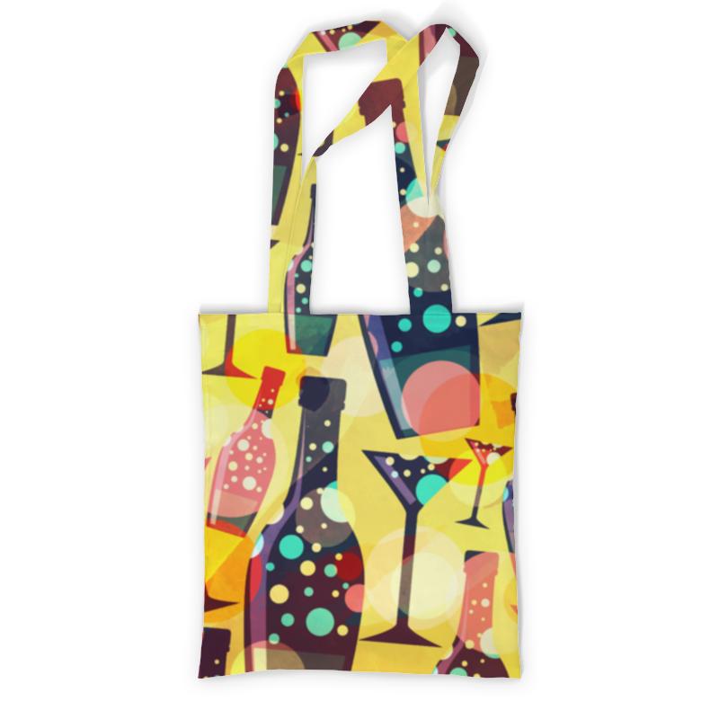 Printio Сумка с полной запечаткой Бутылки printio сумка с абстрактным рисунком