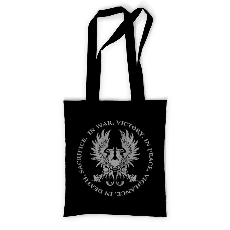 Printio Сумка с полной запечаткой Dragon age. серые стражи printio сумка с абстрактным рисунком