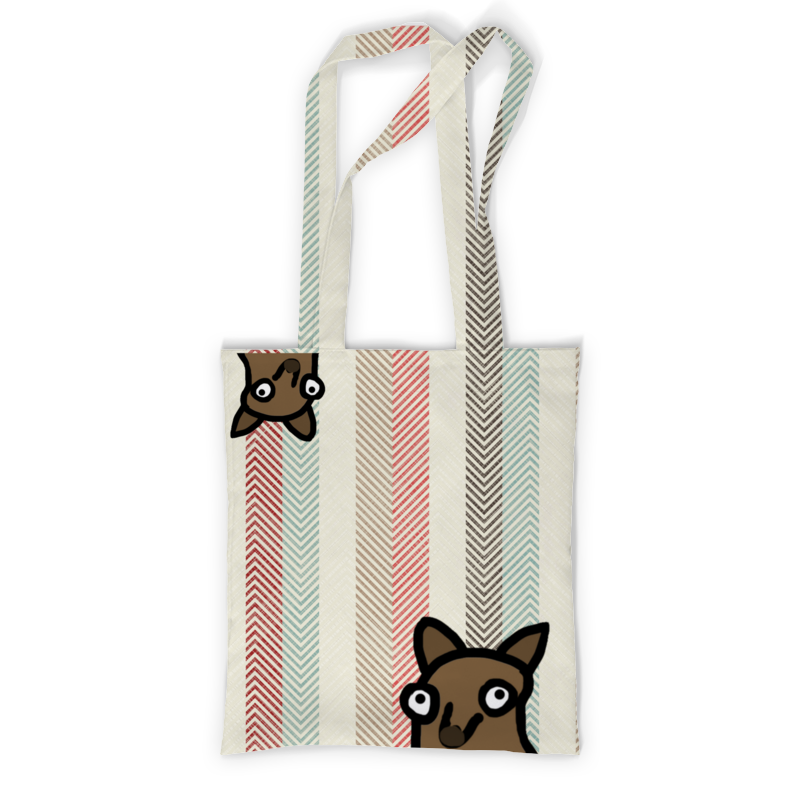 Printio Сумка с полной запечаткой Собачка printio сумка с полной запечаткой кошка