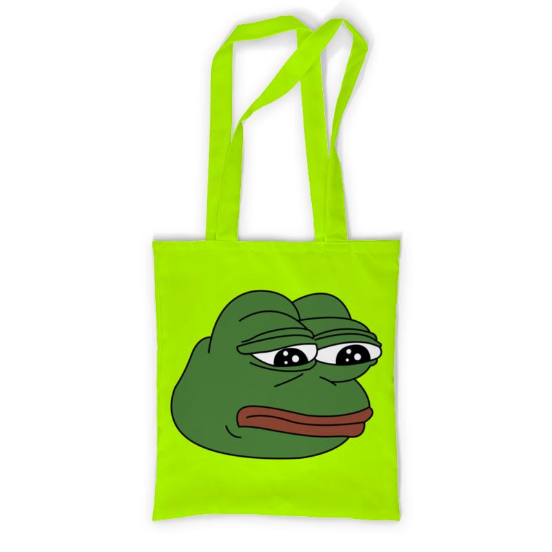 Фото - Printio Сумка с полной запечаткой Грустная лягушка printio сумка pepe the frog whant some love