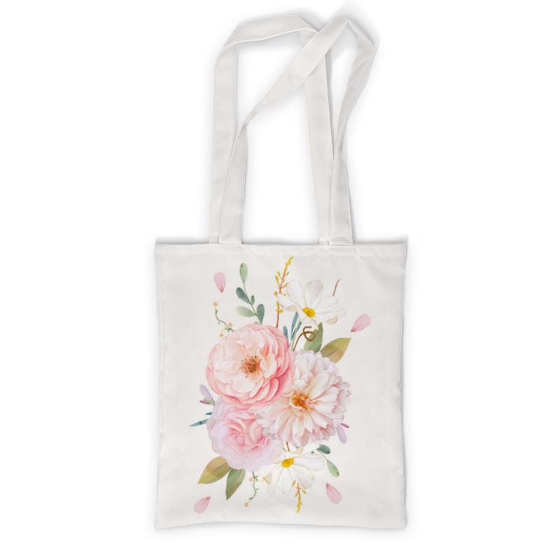 Printio Сумка с полной запечаткой Акварельные цветы printio сумка с абстрактным рисунком