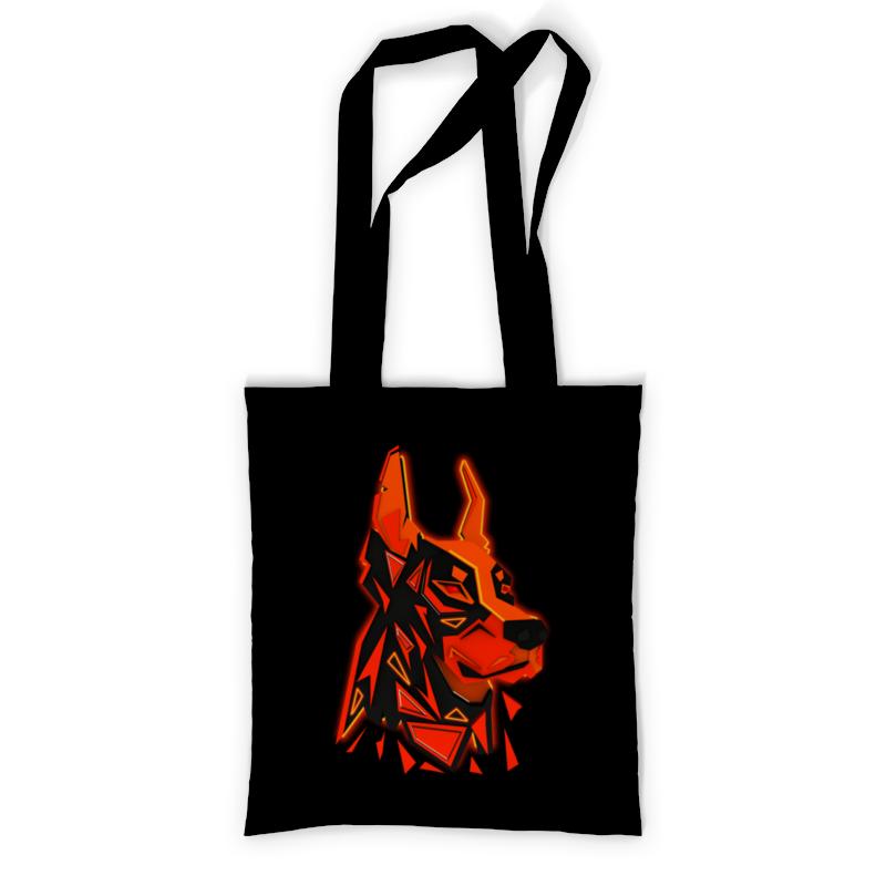 Printio Сумка с полной запечаткой Доберман printio сумка с абстрактным рисунком
