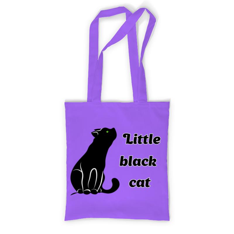 Printio Сумка с полной запечаткой Черная кошка printio сумка с полной запечаткой кошка
