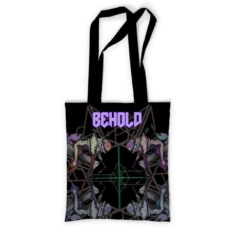 Printio Сумка с полной запечаткой Behold printio сумка с абстрактным рисунком