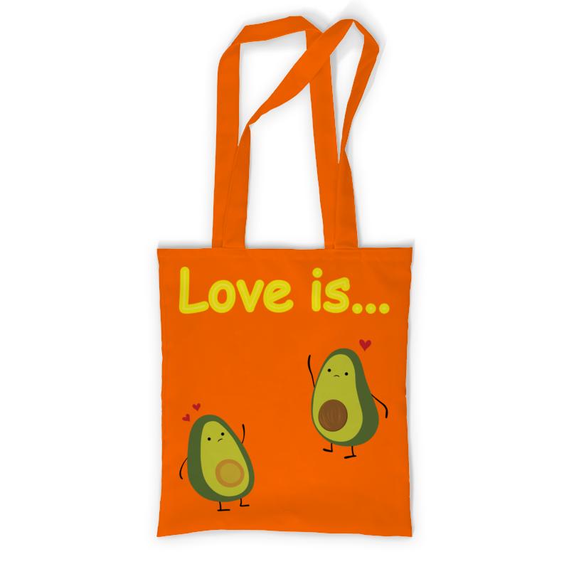 Printio Сумка с полной запечаткой Love is... printio сумка с абстрактным рисунком
