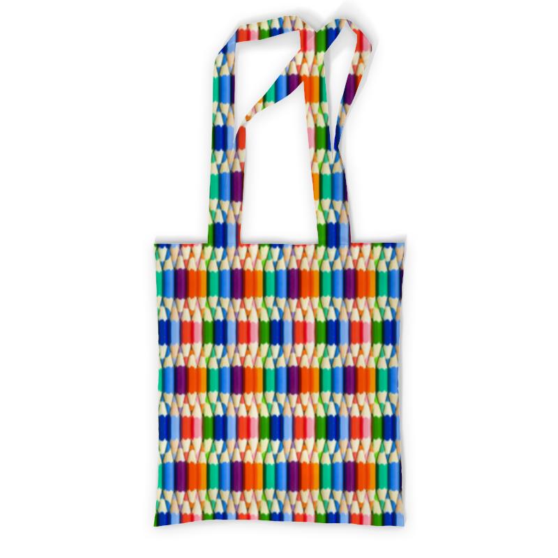 Printio Сумка с полной запечаткой Карандаши printio сумка с абстрактным рисунком