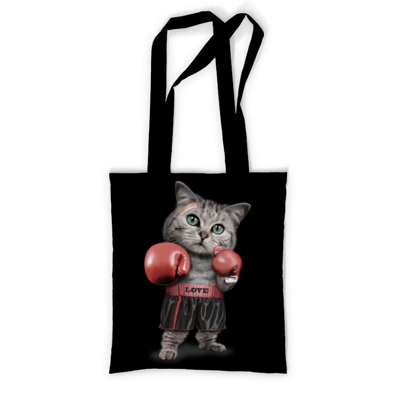 Printio Сумка с полной запечаткой Кот боксёр printio сумка с абстрактным рисунком