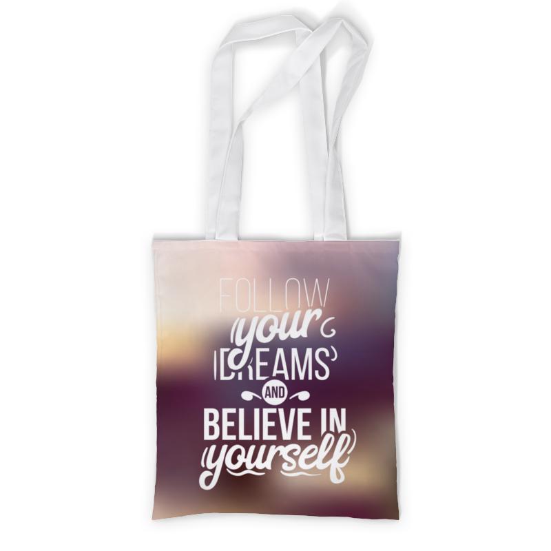 Printio Сумка с полной запечаткой Follow your dreams printio сумка с абстрактным рисунком