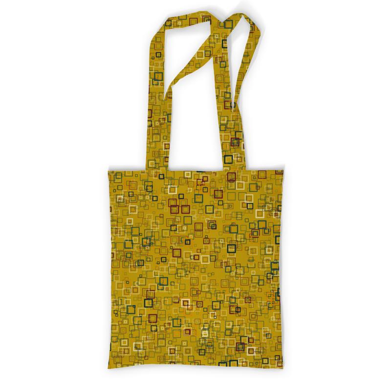 Printio Сумка с полной запечаткой Квадраты printio сумка с абстрактным рисунком