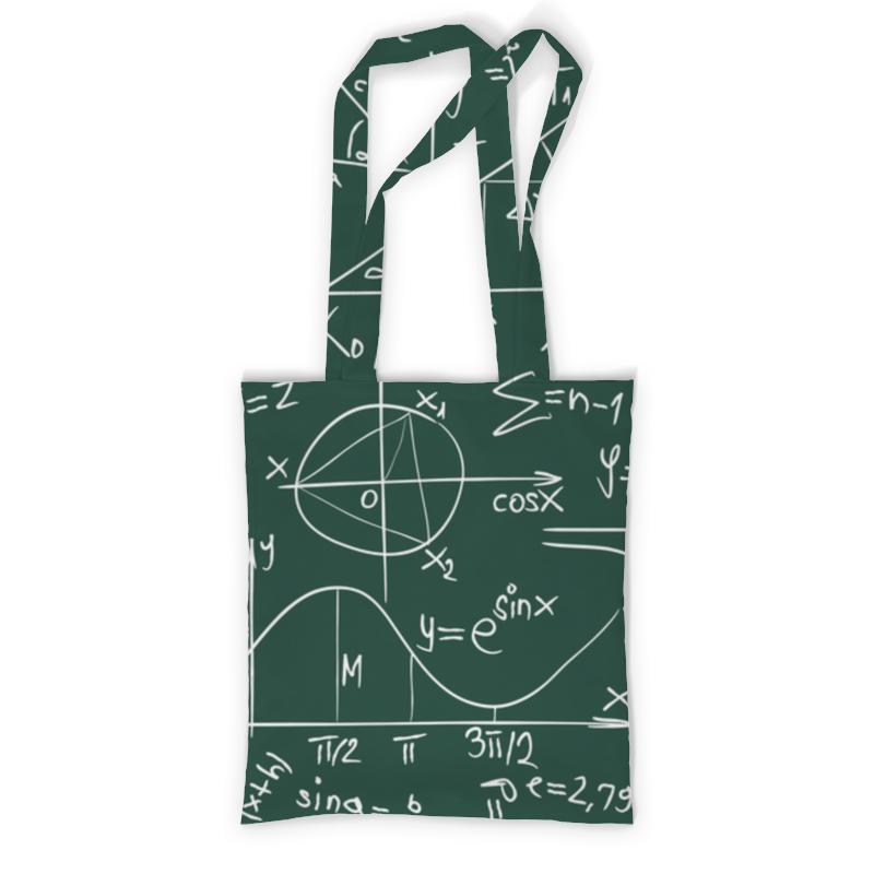 Printio Сумка с полной запечаткой Математика printio сумка с абстрактным рисунком