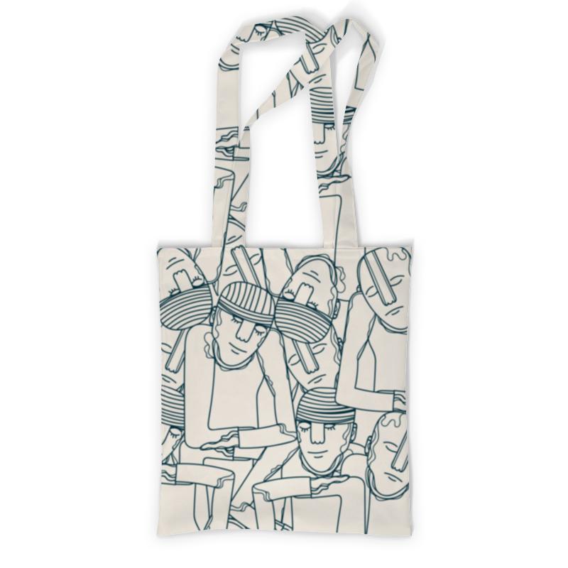 Printio Сумка с полной запечаткой Мегаполис printio сумка с абстрактным рисунком