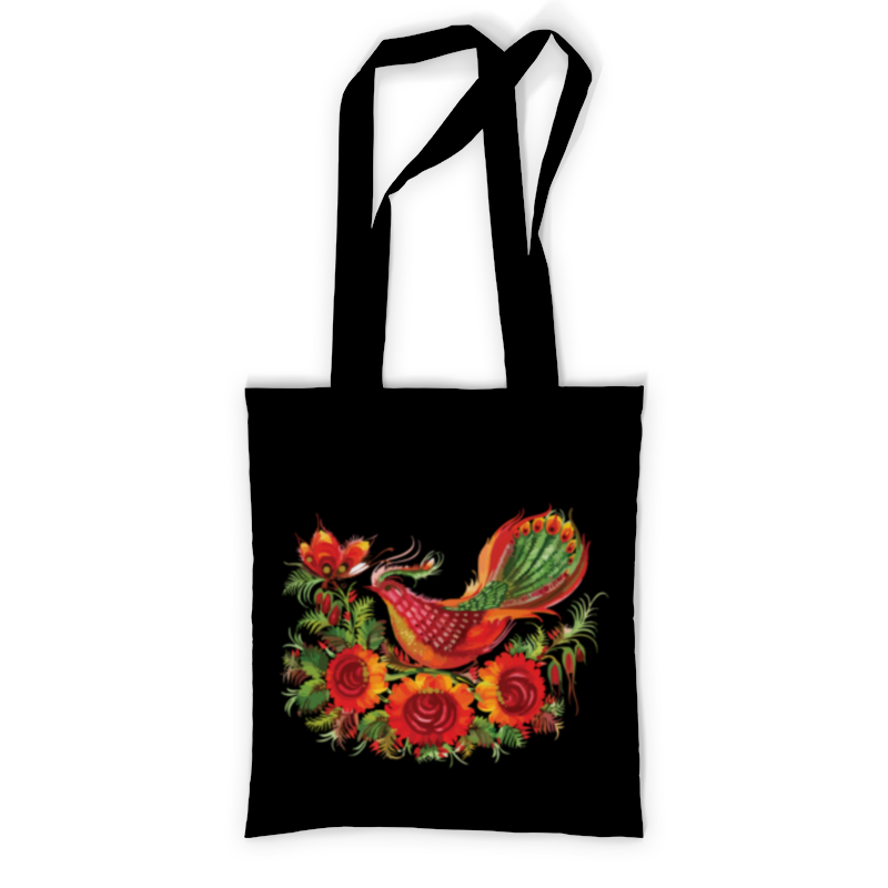 Printio Сумка с полной запечаткой Хохлома (птица) printio сумка с абстрактным рисунком