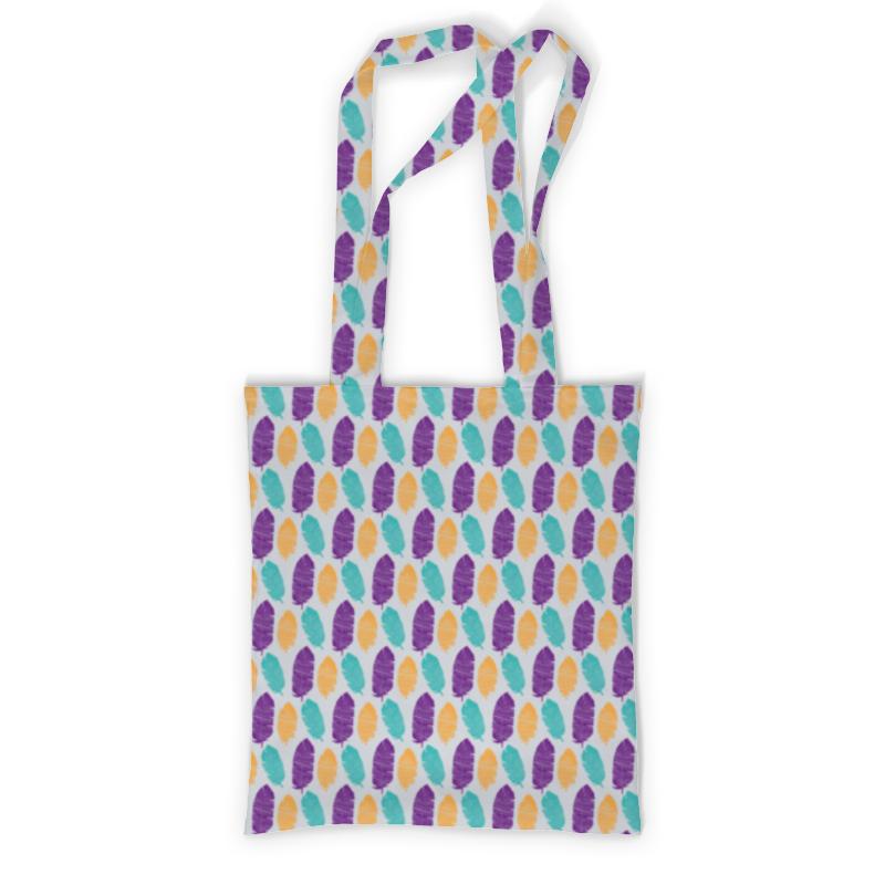 Printio Сумка с полной запечаткой Разноцветные перья printio сумка с абстрактным рисунком