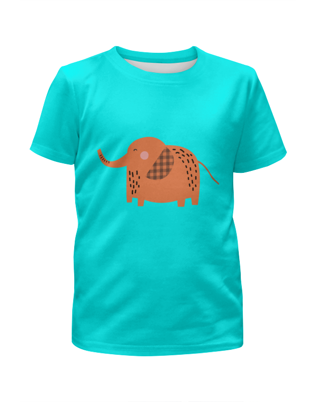 Фото - Printio Футболка с полной запечаткой для мальчиков Слоник printio футболка с полной запечаткой для девочек слоник