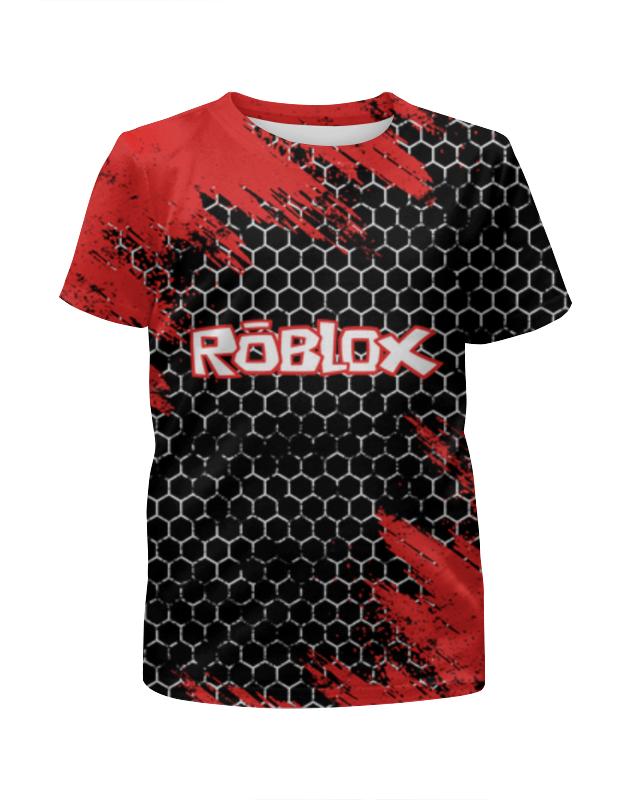Printio Футболка с полной запечаткой для мальчиков Roblox   роблокс фото