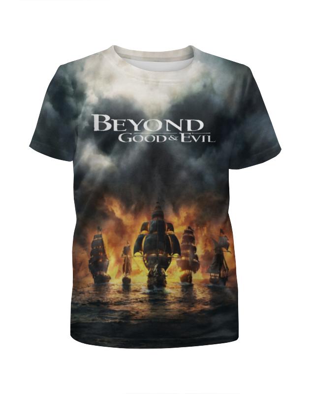 Printio Футболка с полной запечаткой для мальчиков Beyond good evil printio футболка с полной запечаткой для девочек evil clown