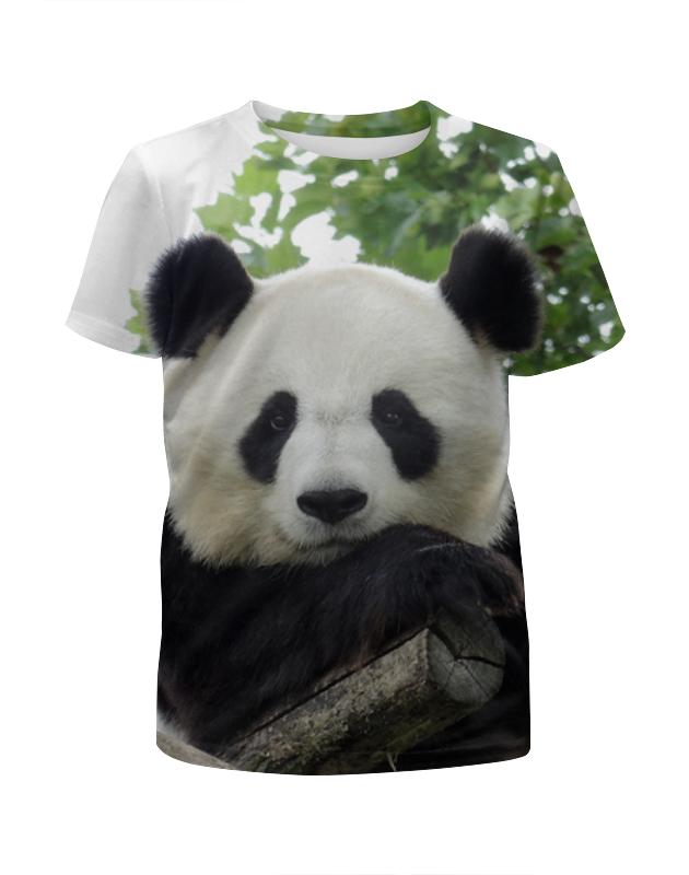 Printio Футболка с полной запечаткой для мальчиков Панда printio футболка с полной запечаткой для мальчиков смешные панды