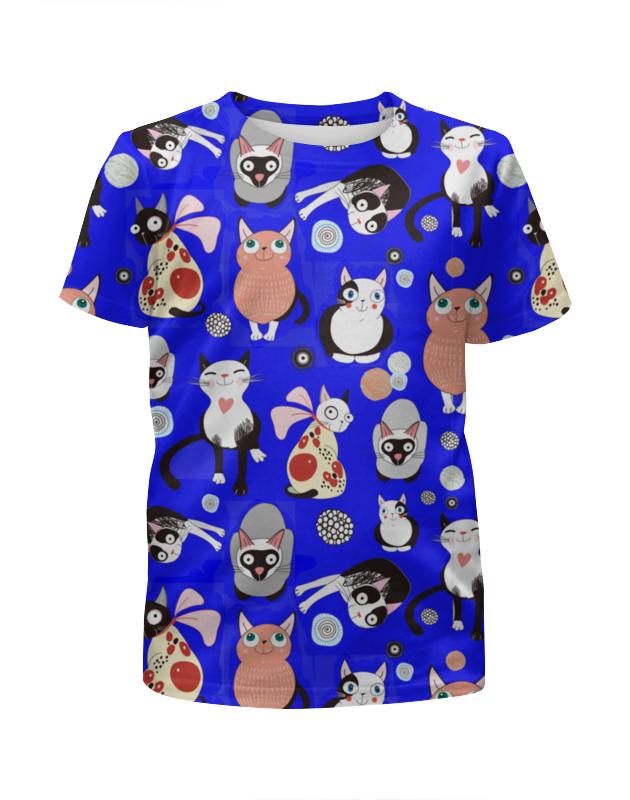 Printio Футболка с полной запечаткой для мальчиков Смешные кошки printio футболка с полной запечаткой для мальчиков смешные панды