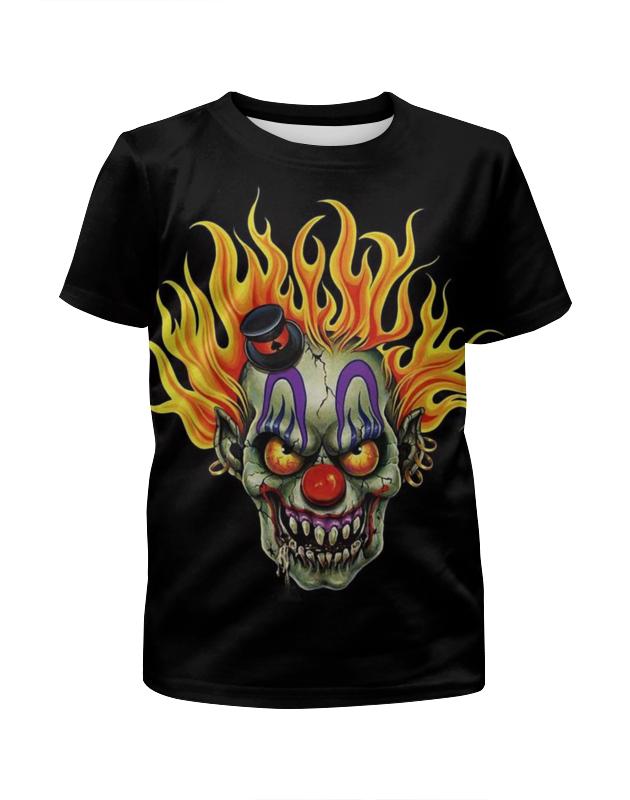 Printio Футболка с полной запечаткой для мальчиков Evil clown printio футболка с полной запечаткой для девочек evil clown