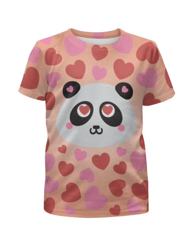 Printio Футболка с полной запечаткой для мальчиков Влюбленная панда printio футболка с полной запечаткой для мальчиков смешные панды