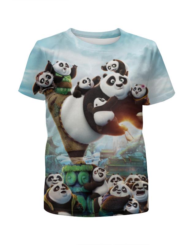 Printio Футболка с полной запечаткой для мальчиков Кунг-фу панда