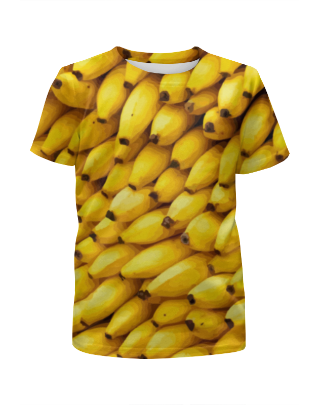 Printio Футболка с полной запечаткой для мальчиков Бананы 3d