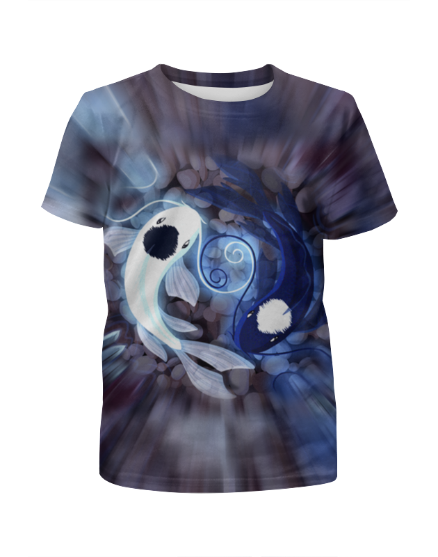 Printio Футболка с полной запечаткой для мальчиков Рыбки printio футболка с полной запечаткой для мальчиков рыбки