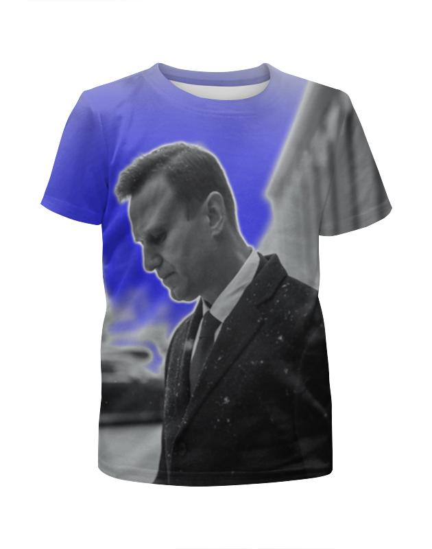 Printio Футболка с полной запечаткой для мальчиков Навальный