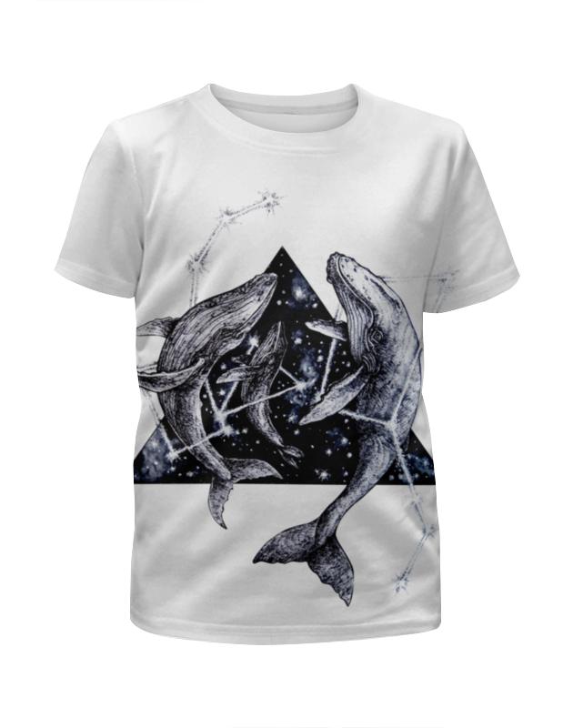 футболка с полной запечаткой для девочек printio star wars звездные войны Printio Футболка с полной запечаткой для девочек Звездные киты