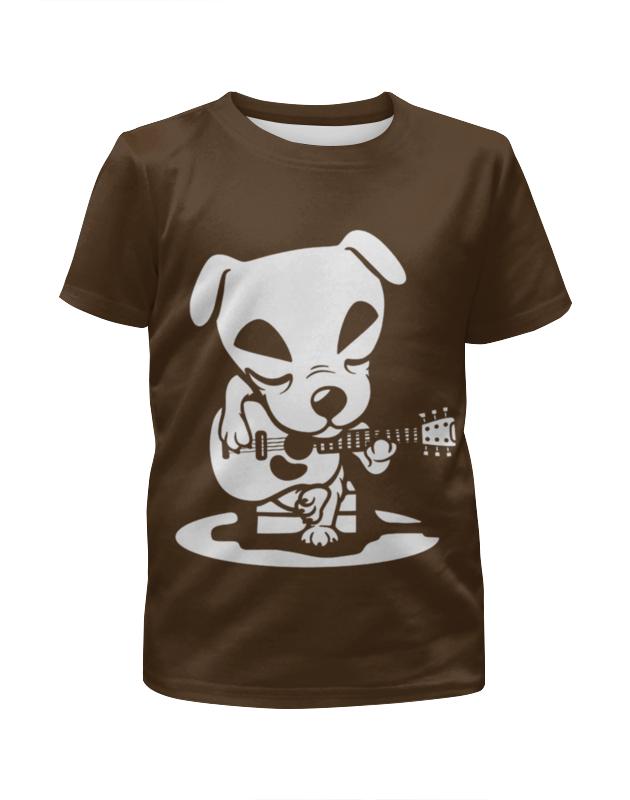 Printio Футболка с полной запечаткой для девочек Гитарист