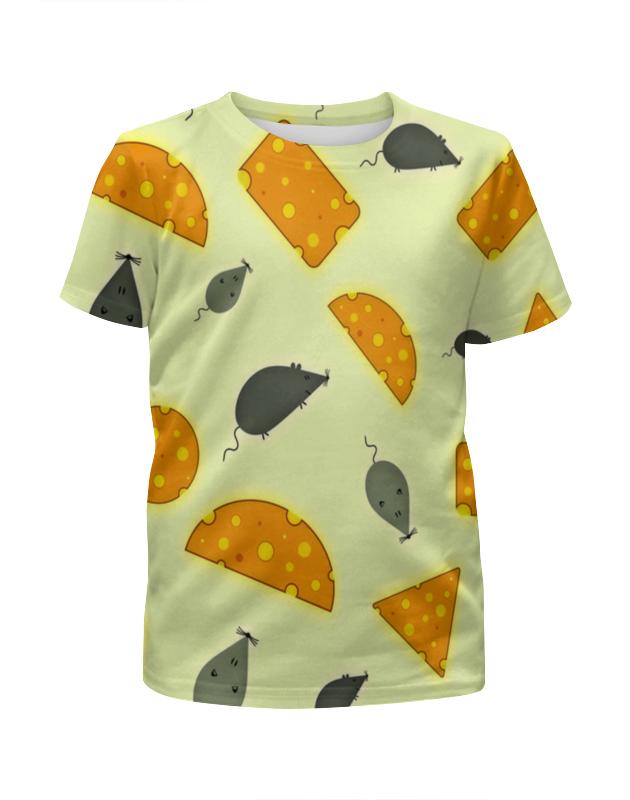 printio футболка с полной запечаткой для девочек сказочная летучая мышь Printio Футболка с полной запечаткой для девочек Мышь и сыр