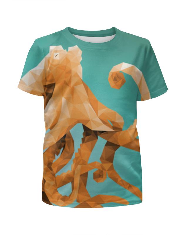 Printio Футболка с полной запечаткой для девочек Octopus