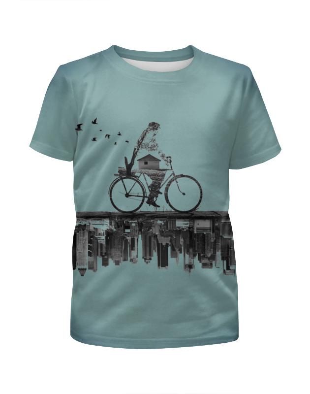 printio футболка с полной запечаткой для девочек город Printio Футболка с полной запечаткой для девочек Город внизу