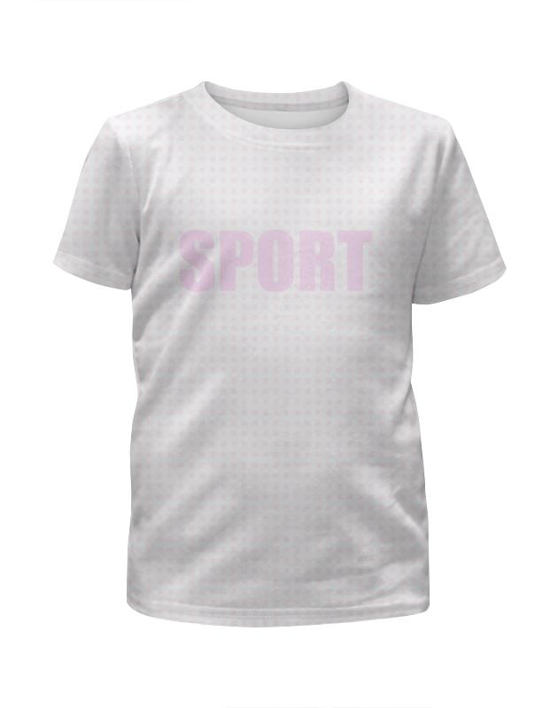 Printio Футболка с полной запечаткой для девочек Kidsport