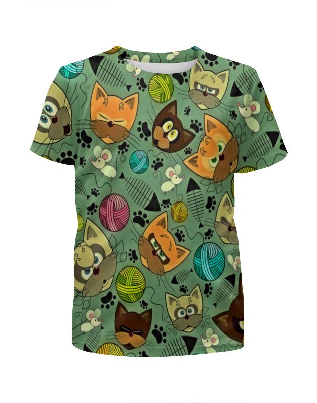 printio футболка с полной запечаткой для девочек сказочная летучая мышь Printio Футболка с полной запечаткой для девочек Кот и мышь