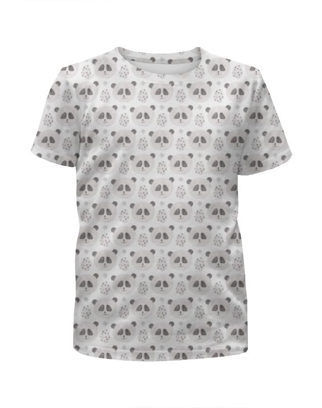 Printio Футболка с полной запечаткой для девочек Панды printio футболка с полной запечаткой для мальчиков смешные панды
