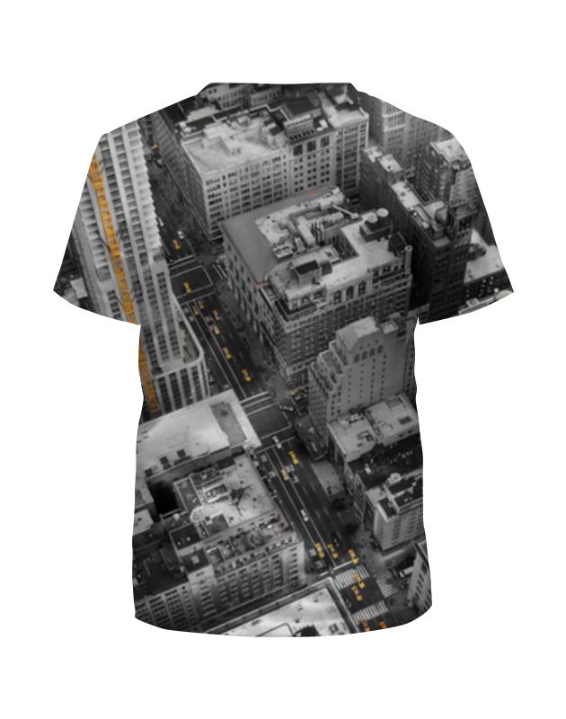 printio футболка с полной запечаткой для девочек город Printio Футболка с полной запечаткой для девочек Город 3d